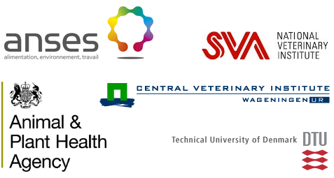 CoVetLab member institute logos